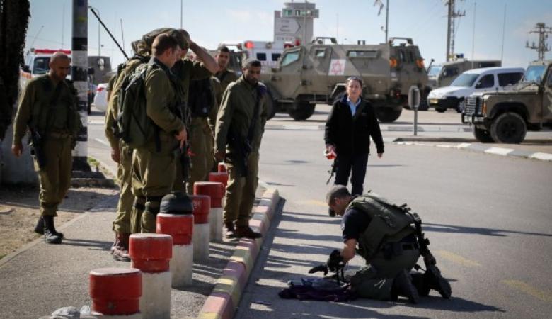 إصابة مجندة اسرائيلية بعملية طعن غرب رام الله