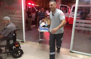6 إصابات خلال مواجهات مع وحدات خاصة اسرائيلية في بلدة بيت ريما شمال غرب رام الله