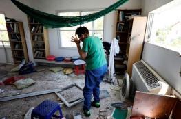 إصابة مستوطنين بشظايا صواريخ المقاومة