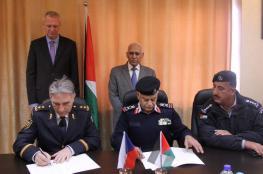 الدفاع المدني يوقع اتفاقية تعاون مع الحماية المدنية التشيكية