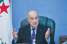 الرئيس الجزائري يدخل الحجر الصحي لأيام