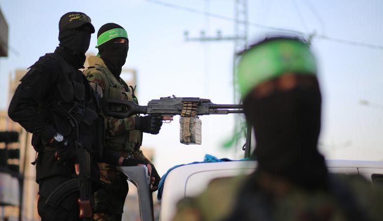 """حماس : لا تهدئة مع الاحتلال وسنواصل القتال """""""