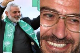 """حماس تعين """"العاروري """" نائباً لهنية خلفا لموسى ابو مرزوق"""
