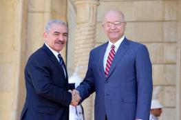 اشتية : العراق سيدعم فلسطين مالياً
