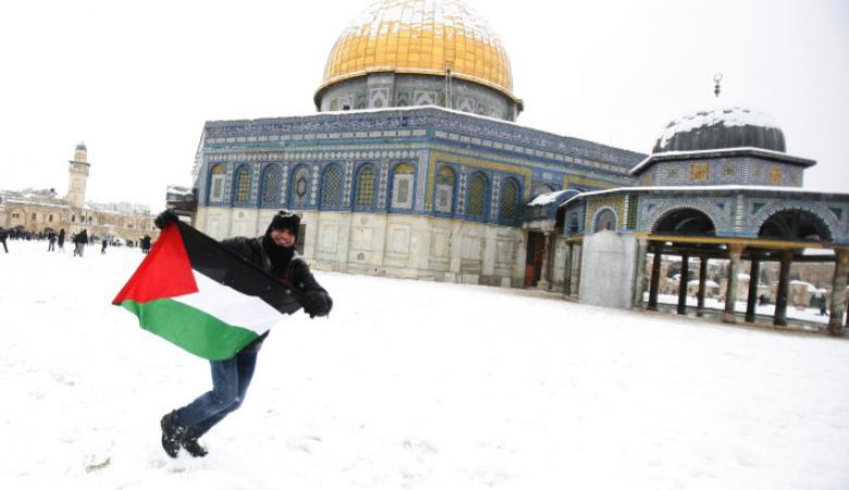 طقس فلسطين : أجواء شديدة البرودة وزخات ثلجية فوق هذه المناطق