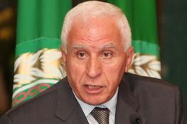 الاحمد : القيادة الفلسطينية اتخذت قراراً بعدم التعامل مع الرباعية