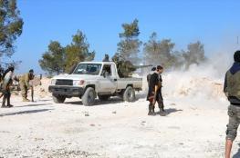 """الجيش الحر : داعش يستخدم المدنيين كدروع بشرية في مدينة """"الباب """""""