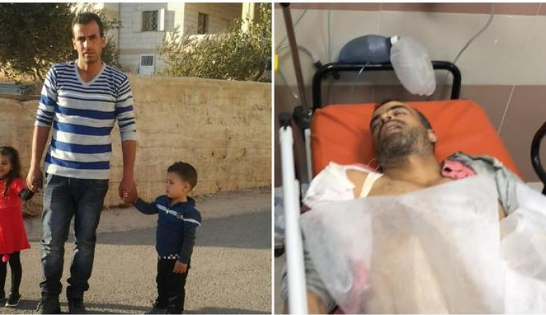 مجزرة اسرائيلية ..شهيد وعشرات الاصابات في رام الله