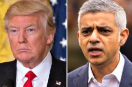 رئيس بلدية لندن يهاجم ترامب بشكل عنيف بسبب تصريحاته المتغطرسة ضدالاسلام