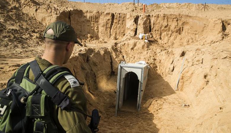 اسرائيل : مختبر عسكري سري للكشف عن انفاق غزة