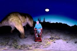 شاهد: أكبر ديناصور مشى على وجه الأرض بفيديو 360 درجة