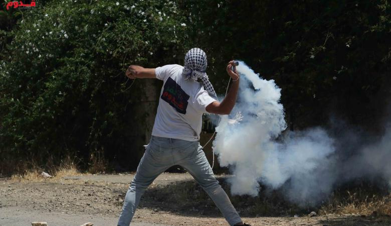 اصابة 4 مواطنين في مسيرة كفرقدوم  الاسبوعية