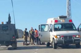 إصابة مواطن برصاص الاحتلال غرب رام الله