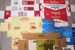 الوقائي يضبط مصنعا لتزوير ماركات السجائر العالمية  في جنين ..صور