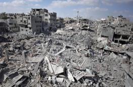 قطر توقع على 12 مليون دولار لإعادة إعمار غزة