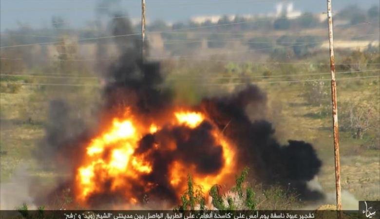 داعش يتبنى هجوم العريش الدامي