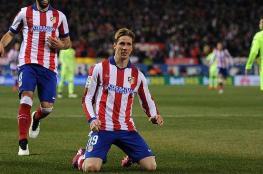 """تعادل مثير بين برشلونة واتلتكو مدريد وطرد 3 لاعبين """"فيديو """""""