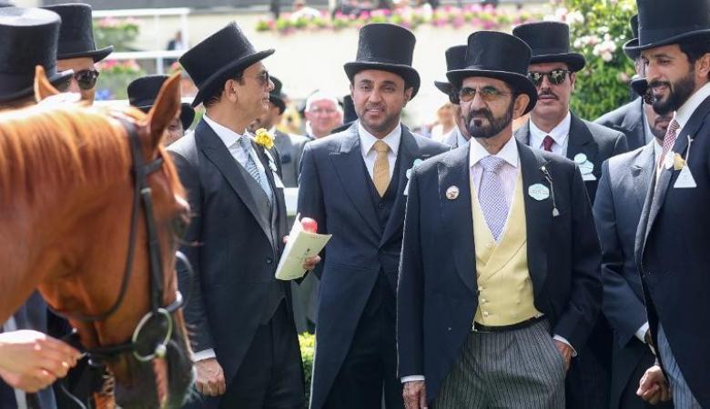 حاكم دبي يشتري حصان بـ 4 ملايين دولار