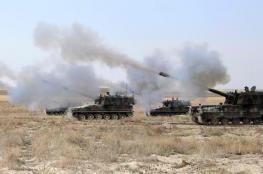 تركيا تعلن قصف مواقع تابعة للجيش السوري