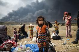 """""""يونسيف"""": مئة ألف طفل مهددون بالموت في الموصل"""