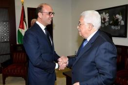 الرئيس : ملتزمون بحل مبدا الدولتين ومبادرة السلام العربية