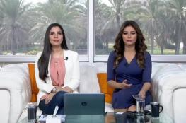 """العبقرية الفلسطينية  """" أديان """"  تتغلب على مذيعتا قناة العربية في اختبار مدهش """" فيديو """""""