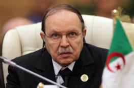 """اطلاق اسم الرئيس الجزائري """"بوتفليقة """" على شارع جنوب طوباس في فلسطين"""