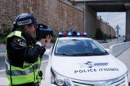 شرطة الاحتلال تحرر مخالفات باهظة الثمن بخق السائقين شرق قلقيلية