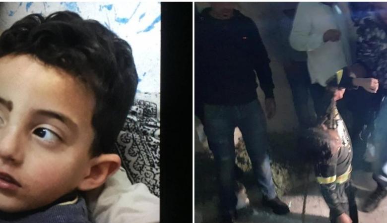 شاهد ...لحظات تحبس الانفاس اثناء العثور على طفل فقد في رام الله