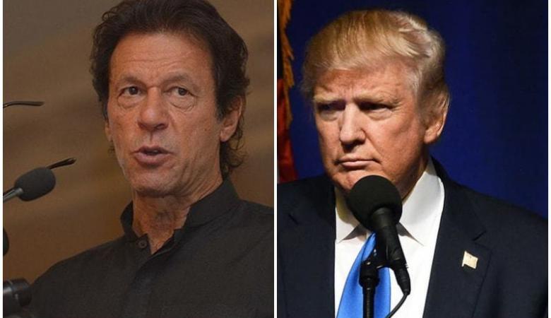 ترامب يطلب المساعدة من رئيس الوزراء الباكستاني