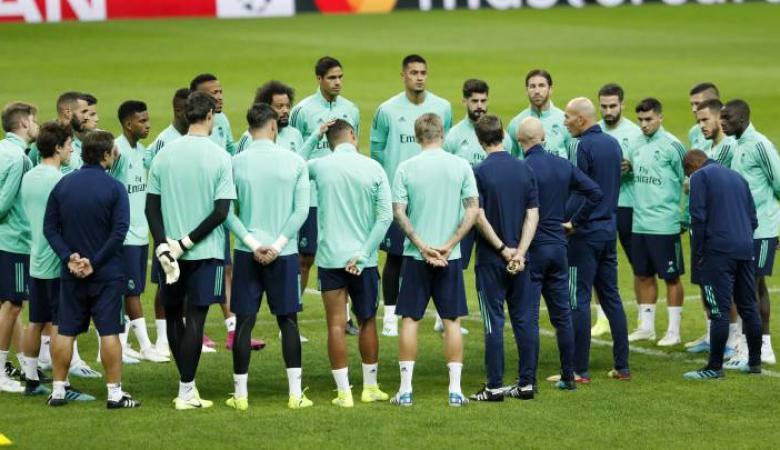 اصابة نجم نادي ريال مدريد بفيروس كورونا