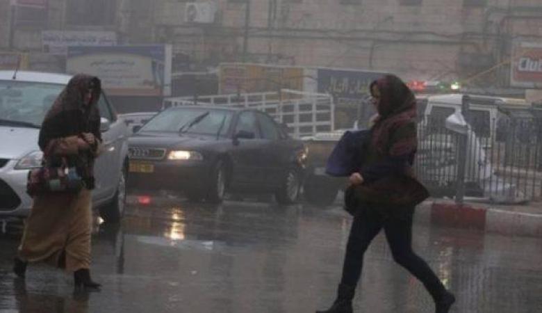 الطقس: منخفض جوي وأمطار مصحوبة بعواصف رعدية