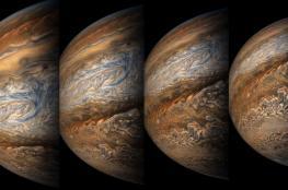 ناسا تعرض صور مذهلة لكوكب المشتري