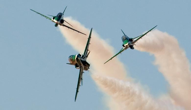 30 طائرة حربية سعودية اقلعت لقصف ايران في أشرس معركة جوية