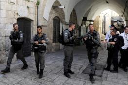 تعزيزات عسكرية امام أبواب الأقصى تمهيداً لاقتحامه من قبل اعضاء الكنيست المتطرفين