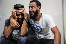 استشهاد مواطن واطفاله في مجزرة اسرائيلية بغزة
