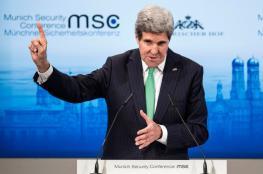 كيري : علينا التمسك بالاتفاق النووي مع ايران