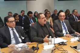 صيدم يقدم رؤية التعليم في فلسطين أمام البنك الدولي