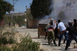 إصابة مواطن برصاص الاحتلال خلال قمع مسيرة كفر قدوم الأسبوعية
