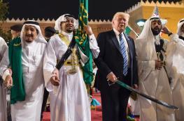 """ترامب بلهجة """"قوية"""" يطالب بن سلمان بإنهاء حصار قطر"""
