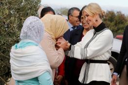 """المزارعة المغربية : لهذا السبب قبلت يدي """"ايفانكا ترامب """""""
