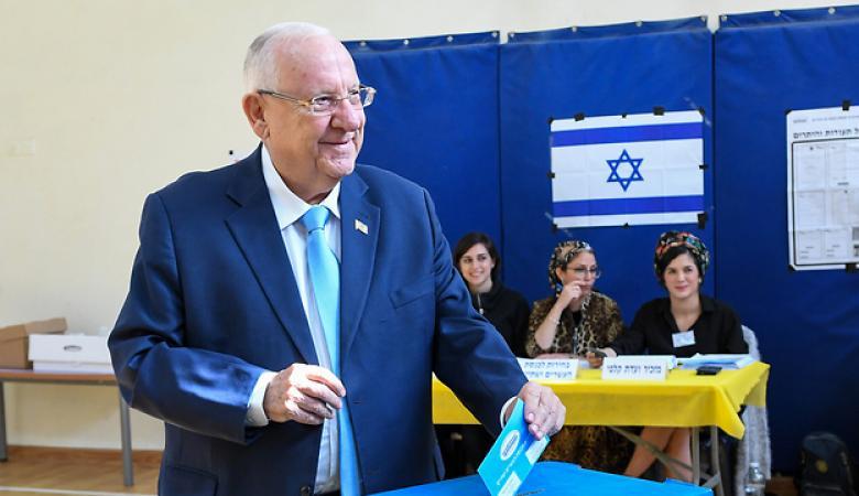 الرئيس الاسرائيلي لا يستبعد  اجراء انتخابات ثالثة