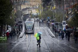حالة الطقس :  زخات متفرقة من الأمطار على مختلف المناطق