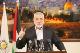 هنية يحذر اسرائيل من منع الانتخابات في القدس