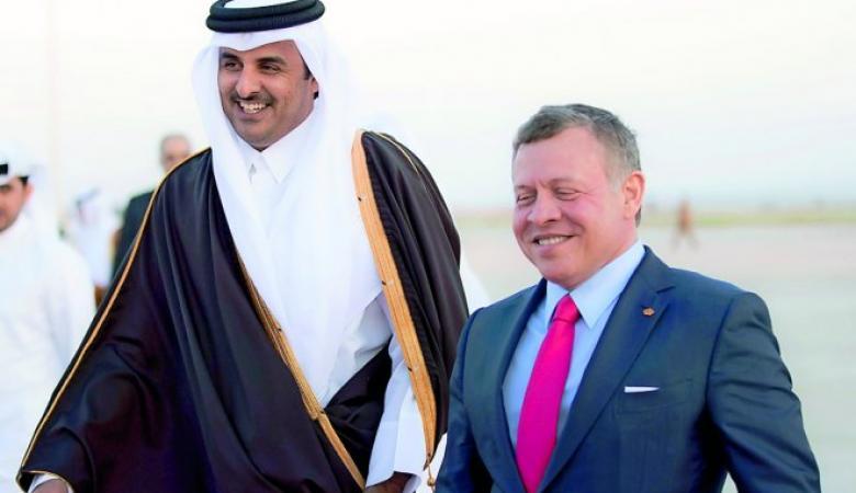 أول حوار بين أمير قطر وملك الأردن بعد عودة العلاقات