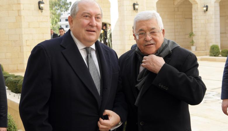 الرئيس يستقبل رئيس أرمينيا