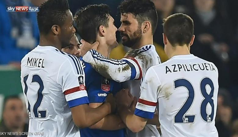 """كوستا خارج تشكيلة إسبانيا بسبب إصابة.. و""""عضة"""""""