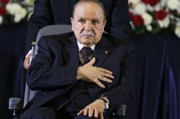 """الرئيس الجزائري """"بوتفليقة """" يستعد لاعلان استقالته"""