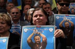 """""""اسرائيل """" تواصل منع زوجة القائد """"البرغوثي """" من زيارته"""