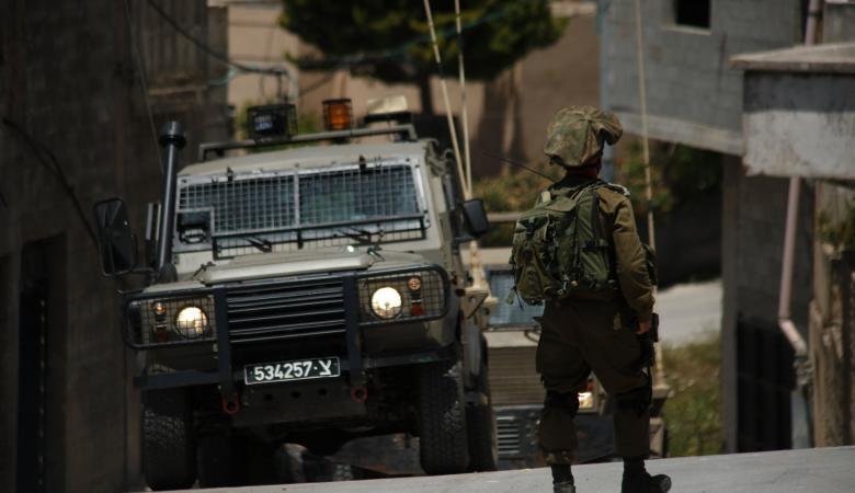 قوة اسرائيلية تقتحم بلدة يعبد جنوب غرب جنين